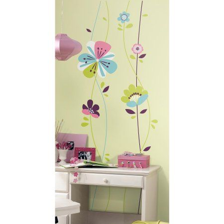 Fairies And Butterflies Main Street Wall Creations Jumbo Stickers Wall Stickers Murals