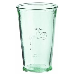Jamie Oliver Recy cled Glass Water Glass, 35 cl: Amazon.co.uk: Kitchen & Home