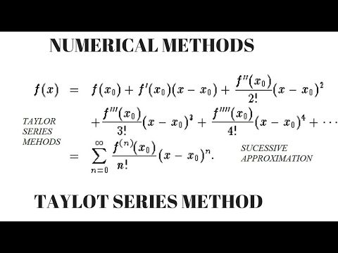 Helping Students in Maths and  Creating Better Tomorrow  : Taylor's Series method