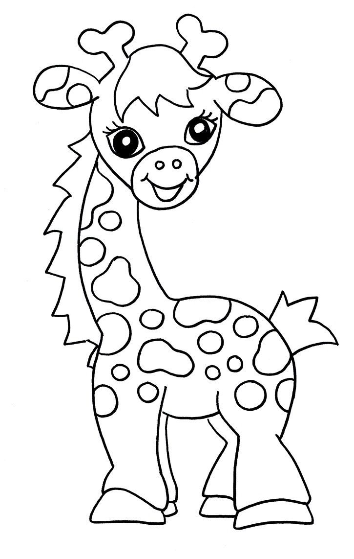 Giraffes Are Large Sized Mammals Known For Their Long Necks And Distinct Coat Patterns Giraffe Coloring Pages Zoo Animal Coloring Pages Animal Coloring Pages
