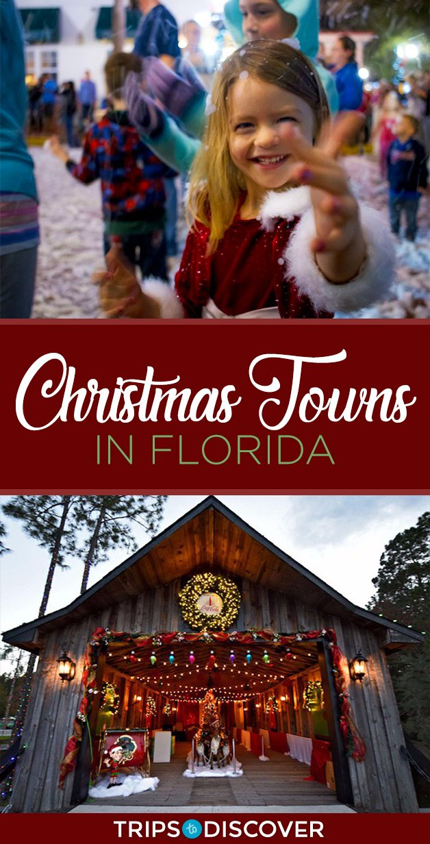 10 Florida Towns That Really Know How To Celebrate The Holiday Season Florida Christmas Florida Florida In December