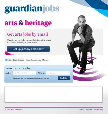 Guardian Facebook Website Design