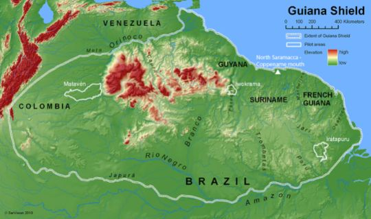 Largest tract of remaining tropical forest on Earth.