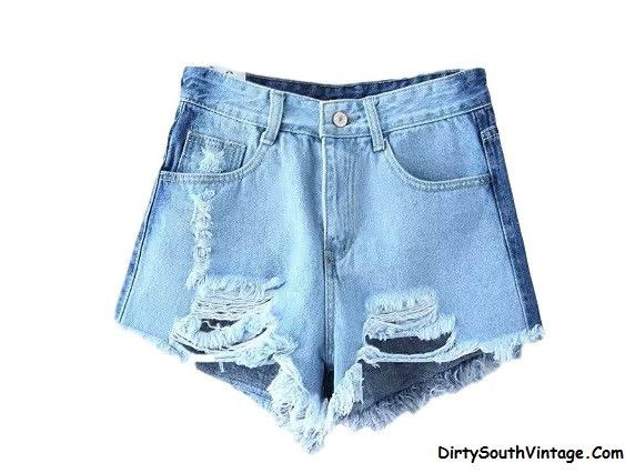 23 best High Waisted Jean Shorts images on Pinterest