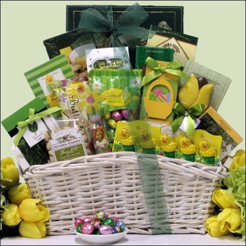 75 best gift baskets images on pinterest hand made gifts kitchens easter wishes large gourmet easter gift basket 9999 negle Gallery