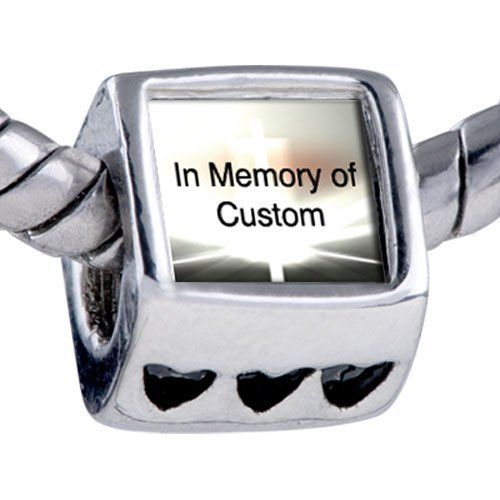 Pugster Bead Bright Shining Light Custom European Charm Bead Fits Pandora Bracelet Pugster. $15.99. Bracelet sold separately. Hole size is approximately 4.8 to 5mm. Fit Pandora, Biagi, and Chamilia Charm Bead Bracelets. Unthreaded European story bracelet design. Add the words you want on the Fit pandora charms