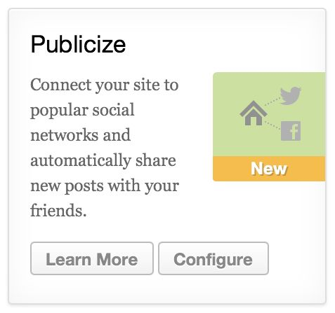 Jetpack 2.0: Publicize to Facebook, Twitter, LinkedIn, Tumblr; Post by Email; Photon; Infinite Scroll