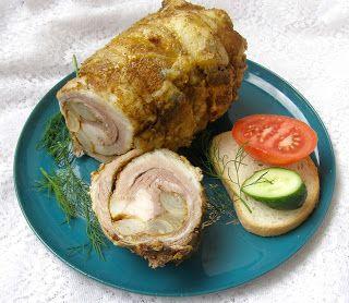 """W Mojej Kuchni Lubię.. : szybkowar-boczek """"gyros-kebab"""" z cebulą i czosnkie..."""