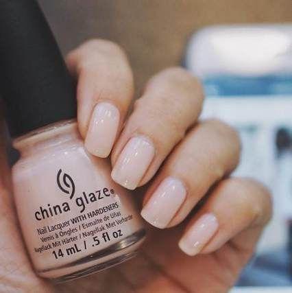 Super manicure natural simple nail polish ideas