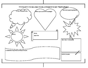 Graphic Organizer Reading Response