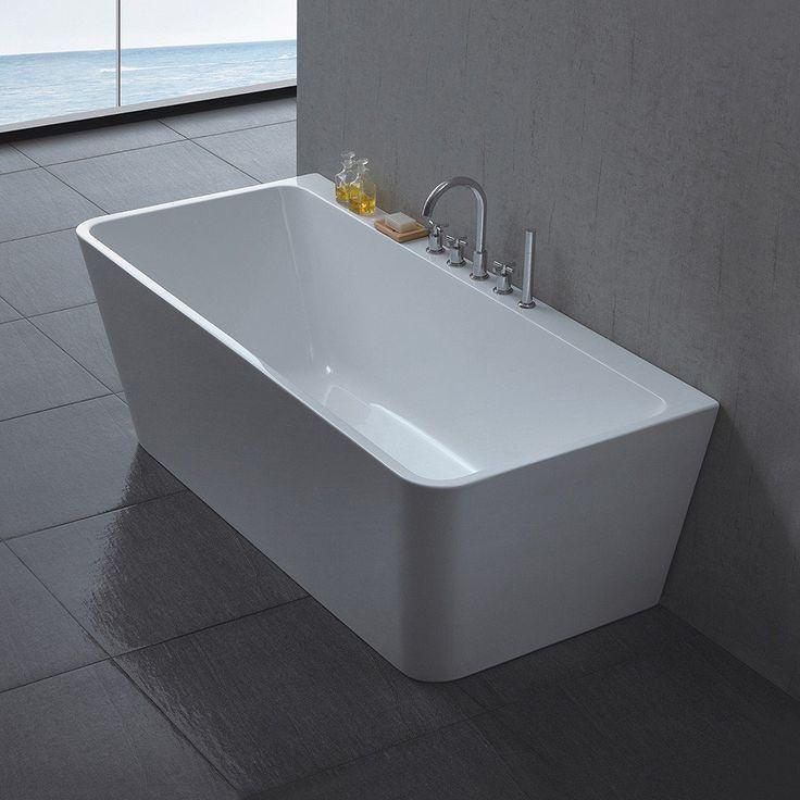 <b>Produktegenskaper</b> <p>Celeste Genova er et badekar i moderne design for montering mot vegg, i 170 cm lengde. Badekaret leveres i en helstøpt form, med skjulte justerbare ben i aluminium og push-up bunnventil. Badekaret i ren hvit akryl har høy slit