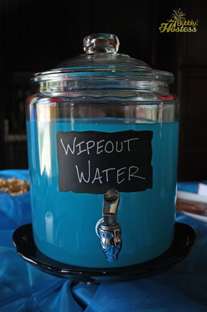 Wipeout Birthday Party Food Ideas | The Bubbly Hostess