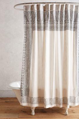 Anthropologie Misona Shower Curtain #anthrofave