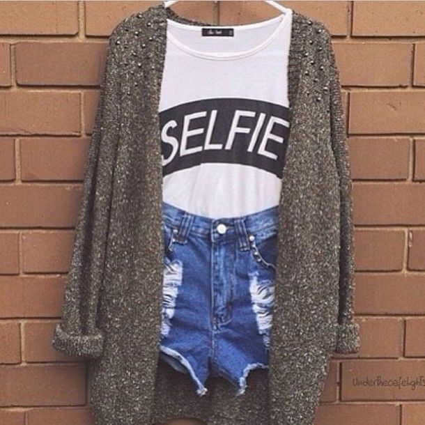 Shirt: selfie, girly, girl, teenagers, cute, cutie, cute outfits ...
