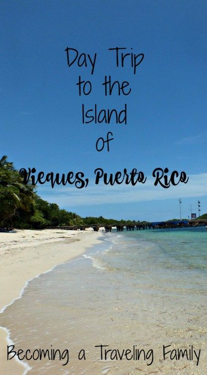 Day Trip to the Island of Vieques, Puerto Rico- Becoming a Traveling Family
