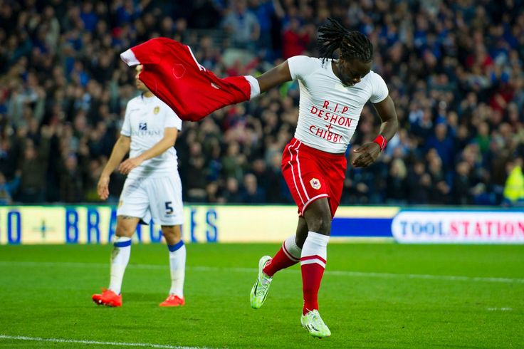 Professional soccer player Kenwyne Jones scores and pays tribute to death of Trevon 'Chibby' Sobers and Deshon Sobers