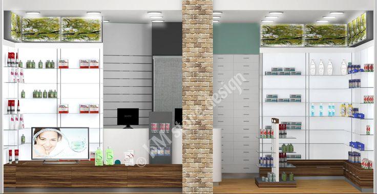 Η KM store designυλοποίησεγια ακόμα μία φορά, τον σχεδιασμό καταστήματος, δίνοντας έτσι, ιδέες για τηνεπίπλωση φαρμακείων.Ο αρχιτεκτονικόςσχεδιασμός φαρμακείου πραγματοποιήθηκε στις σύγχρονες εγκαταστάσεις της εταιρείας, στην Ελλάδα.        Αρχιτεκτονικός Σχεδιασμός Φαρμακείου    Η εταιρεία μας, εκτός από την επίπλωση, ειδικεύεται και στον