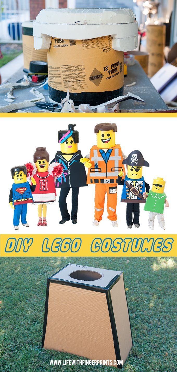 1077 best diy halloween costumes images on pinterest costume ideas diy lego costumes making lego bodies solutioingenieria Gallery