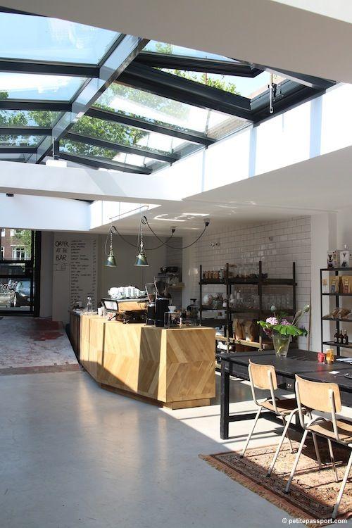 Coffeeshop (coffee/tea/smoothies/cake) Kade 6 & Eginstill Design Studio, Schinkelhavenkade 6, Amsterdam-South