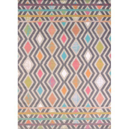 Free Shipping. Buy United Weavers Urban Galleries Area Rugs - 590-20689 Contemporary Tropical Diamonds Waves Chevrons Stripes Rug at Walmart.com