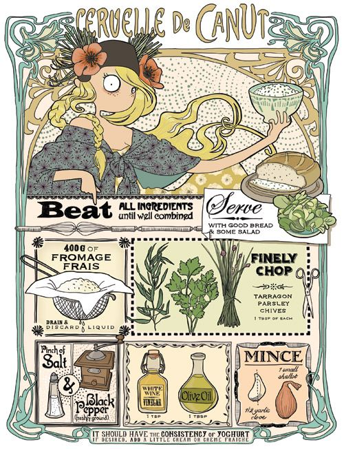 Emma Tissier- illustrated recipes
