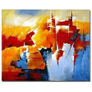 Meer dan 1000 idee n over blauw oranje op pinterest kleur blauw en roze blauw - Kleuren schilderij eetkamer ...