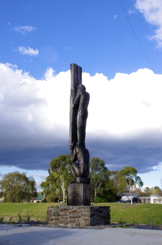 One of the many Public Art Sculptures