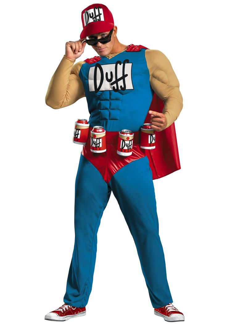 Men's Duffman Costume