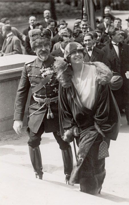King Ferdinand and Queen Marie of Romania.