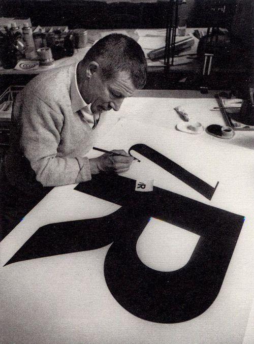 Max Huber (logo for la Rinascente).