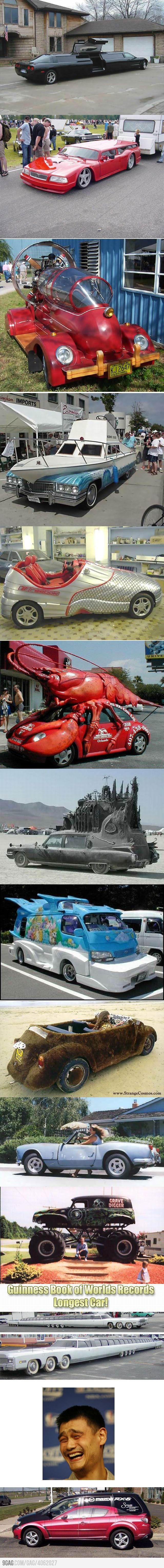 Veículos Bizarros by Daniel Alho / weird cars