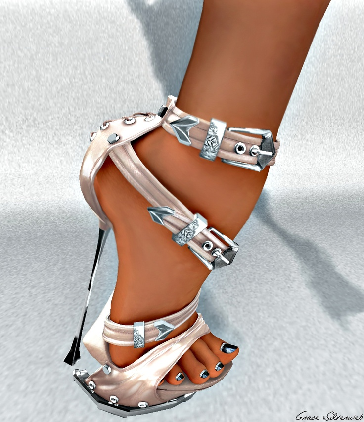 Literally, Killer Heels! I don't know how i could even stand in them, much less walk. Still... love them!