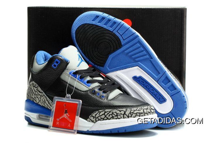 http://www.getadidas.com/jordans-3-men-blue-grey-black-white-topdeals.html JORDANS 3 MEN BLUE GREY BLACK WHITE TOPDEALS Only $78.20 , Free Shipping!