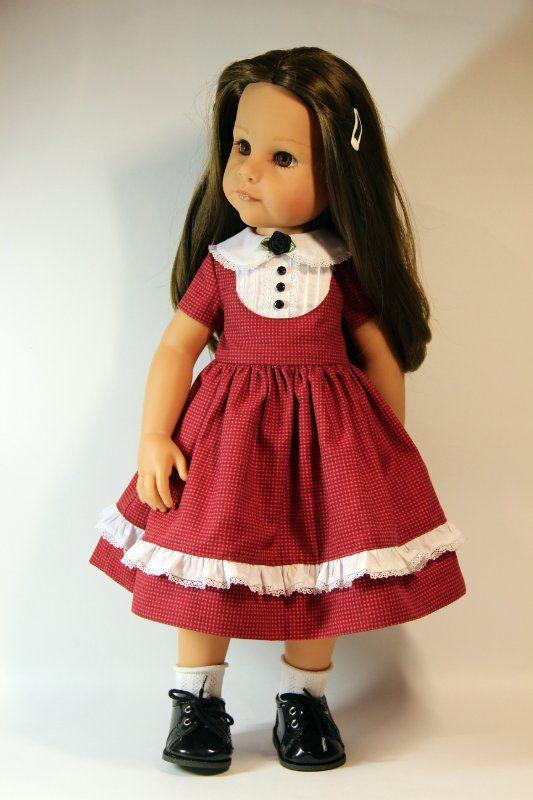 """Три платья """"Хорошая девочка"""" для куклы Gotz 50 см / Одежда для кукол / Шопик. Продать купить куклу / Бэйбики. Куклы фото. Одежда для кукол"""