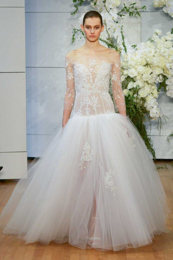 best looks bridal fashion week inspiration monique lhuillier 2