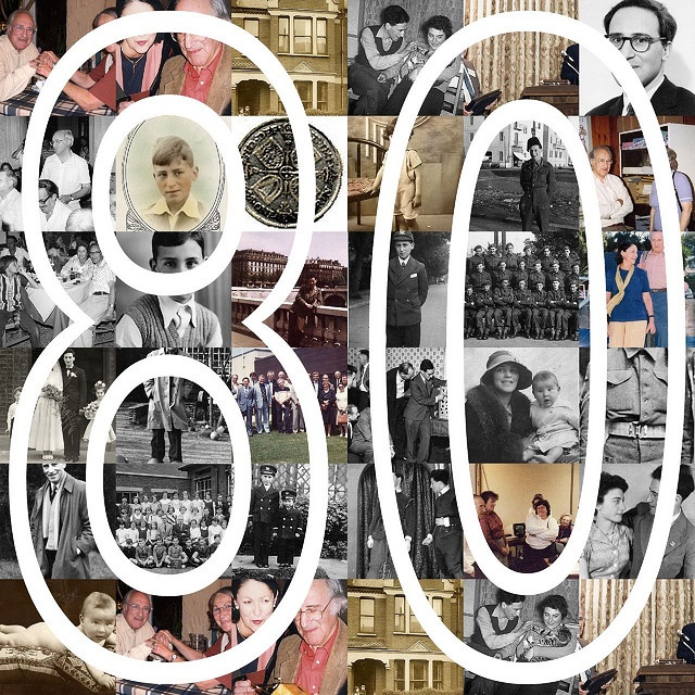 80th Birthday Collage by πρώρα (Prora), via Flickr