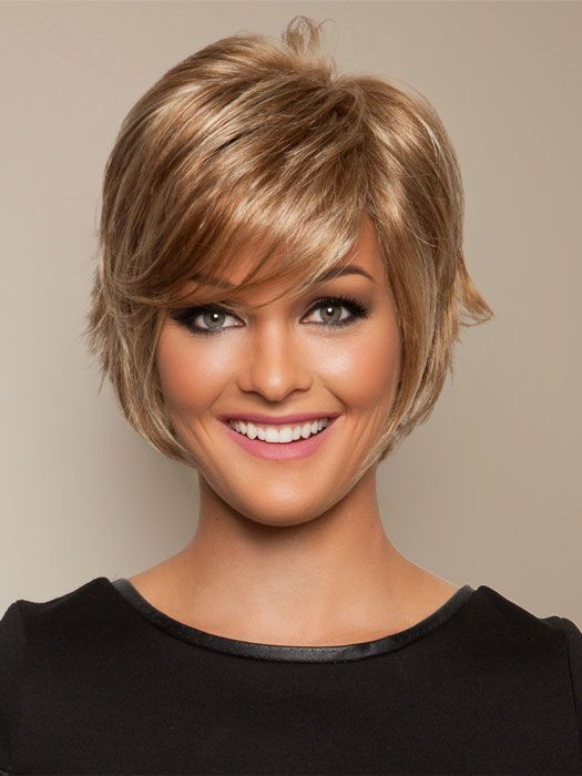 picture of short haircuts salon cool synthetic lace front wig mono top 2088 | ceaf20740681ca2088e708cc323b6d3c dark golden blonde gold highlights