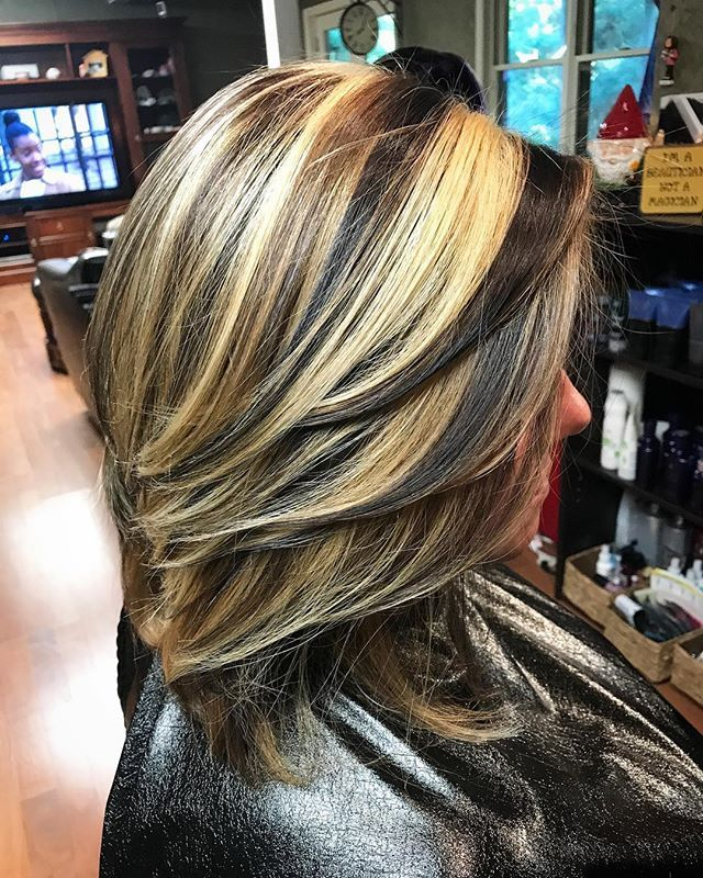 505 Best Chunky Streaks Lowlights 6 Images On Pinterest Hair Cut