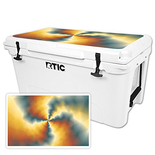 MightySkins Protective Vinyl Skin Decal for RTIC 65 Cooler Lid wrap cover sticker skins Eye Of The Storm ** You can get additional details at the image link.-It is an affiliate link to Amazon.