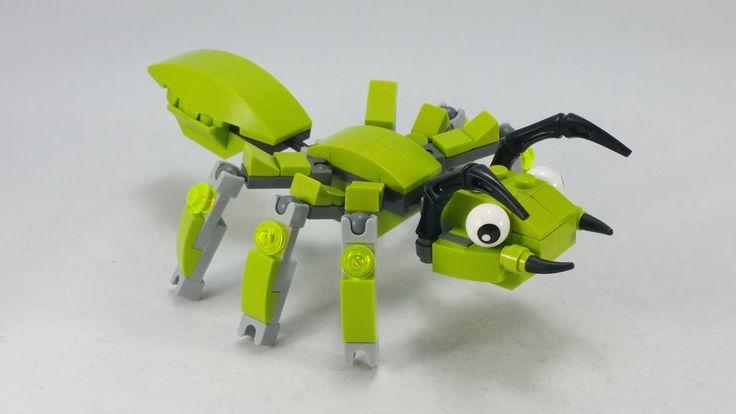 ANT | Wie baue ich? / Anleitung | LEGO MOC – YouTube   – Education