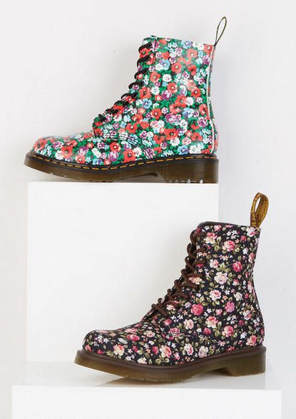 Dr. Marten Floral Boot - View All Shoes - Shoes - dELiA*s