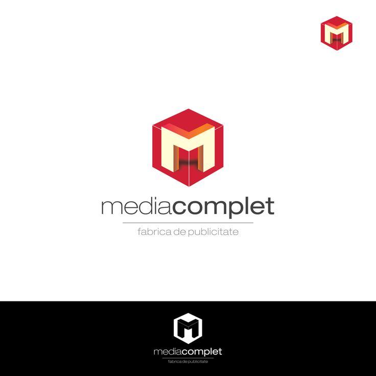 Logo design for Media Complet