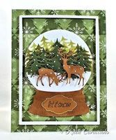 Isn't this gorgeous! This blogger is full of beautiful cards and ideas. ;)