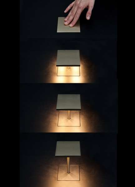 Pop Up Desk Light U0027Spingi Quau0027 Designed By Mario Nanni For Viabizzuno  Spingi Qua Is A Table Recessed Light Fitting With Rating, Made Of A  Aluminium Plate ...