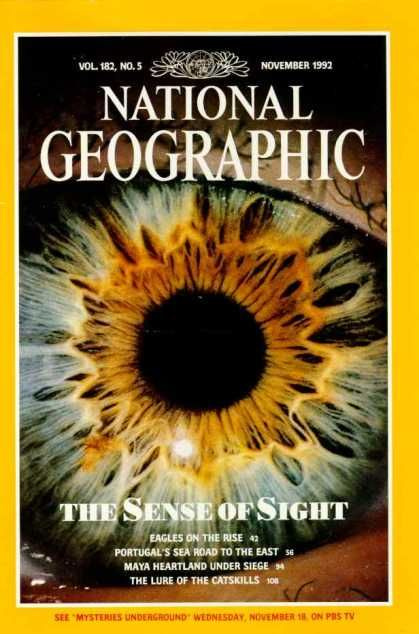 National Geographic. I was given a subscription as a child for a year or two