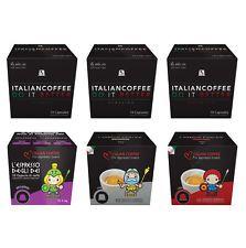 60 Nespresso compatible capsules Espresso Tasting Bundle 0.51/pod FREE SHIPPING