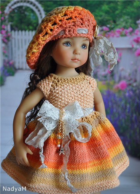 """Наряд для куколки """"Мечты о Париже"""" / Одежда для кукол / Шопик. Продать купить куклу / Бэйбики. Куклы фото. Одежда для кукол"""