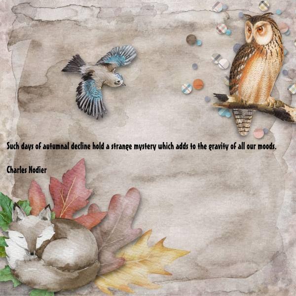Credits: Hello Autumn {Elements} by Paula Kesselring and Hello Autumn {Papers} by Paula Kesselring.