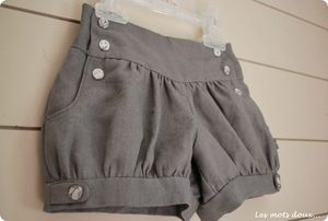 Léon bloomer shorts pattern. Meant for little kids, but would look great on a steampunk lady as well.