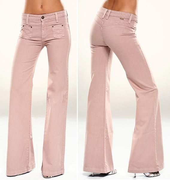 ditto jeans - totally flattering! thay made people with NO a$$ actually look like they had one!~ these need to come back!